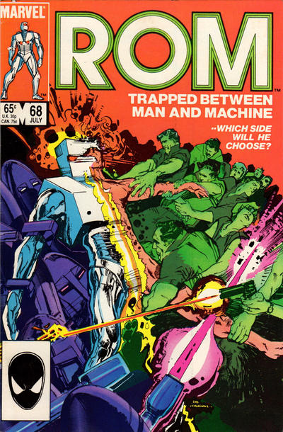Cover for ROM (Marvel, 1979 series) #68 [Newsstand Edition]