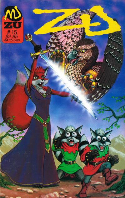 Cover for ZU (MU Press, 1995 series) #15