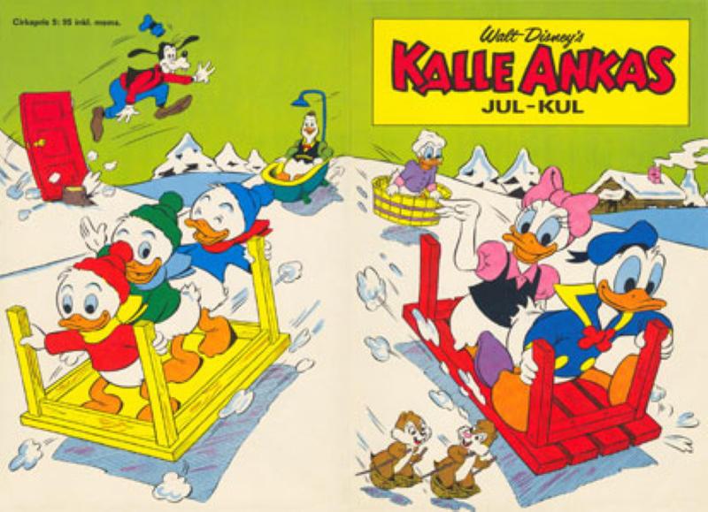 Cover for Kalle Ankas julkul (Hemmets Journal, 1963 series) #1974