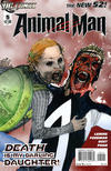 Cover for Animal Man (DC, 2011 series) #5