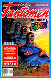 Cover for Fantomen (Semic, 1963 series) #1/1991