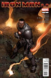 Cover for Iron Man 2.0 (Marvel, 2011 series) #12