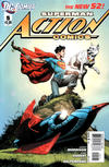 Cover for Action Comics (DC, 2011 series) #5 [Rags Morales Cover]
