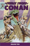 Cover for Savage Sword of Conan (Dark Horse, 2007 series) #10