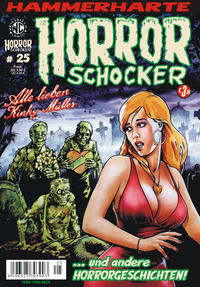 Cover for Horrorschocker (Weissblech Comics, 2004 series) #25