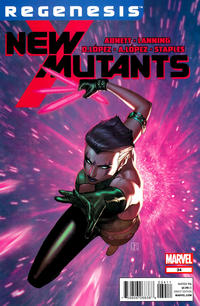 Cover Thumbnail for New Mutants (Marvel, 2009 series) #34