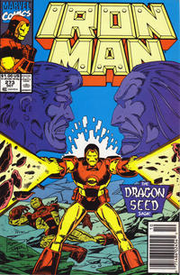 Cover Thumbnail for Iron Man (Marvel, 1968 series) #273 [Newsstand Edition]
