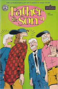 Cover Thumbnail for Father & Son (Kitchen Sink Press, 1995 series) #4