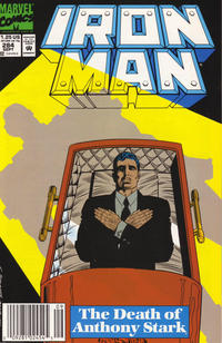 Cover for Iron Man (Marvel, 1968 series) #284 [Direct Edition]