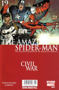 Cover Thumbnail for The Amazing Spider-Man, el Asombroso Hombre Araña (Editorial Televisa, 2005 series) #19