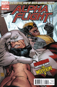 Cover Thumbnail for Alpha Flight (Marvel, 2011 series) #7 [Direct Edition]
