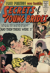 Cover Thumbnail for Secrets of Young Brides (Charlton, 1957 series) #17
