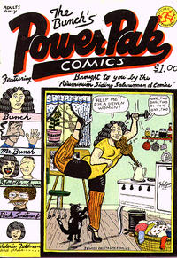 Cover Thumbnail for The Bunch's Power Pak Comics (Kitchen Sink Press, 1979 series) #1