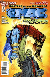 Cover Thumbnail for O.M.A.C. (DC, 2011 series) #5