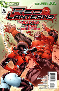 Cover Thumbnail for Red Lanterns (DC, 2011 series) #5 [Direct Sales]