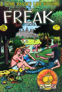 Cover Thumbnail for The Fabulous Furry Freak Brothers (Rip Off Press, 1971 series) #3 [2.95 USD 10th print]