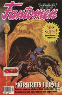 Cover Thumbnail for Fantomen (Semic, 1963 series) #18/1988
