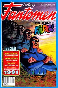 Cover Thumbnail for Fantomen (Semic, 1963 series) #1/1991
