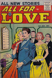 Cover Thumbnail for All for Love (Prize, 1957 series) #v1#4 [4]