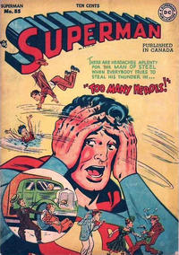 Cover Thumbnail for Superman (National Comics Publications of Canada Ltd, 1948 series) #55