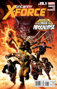 Cover Thumbnail for Uncanny X-Force (Marvel, 2010 series) #19.1