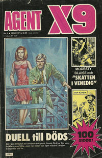 Cover Thumbnail for Agent X9 (Semic, 1971 series) #6/1980