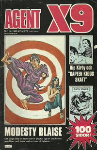 Cover Thumbnail for Agent X9 (Semic, 1971 series) #11/1980