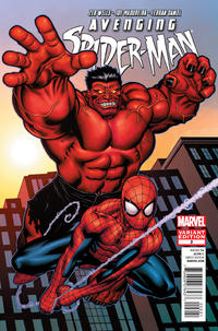 Cover Thumbnail for Avenging Spider-Man (Marvel, 2012 series) #2 [Variant Edition - Ed McGuinness Cover]