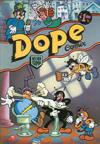 Cover Thumbnail for Dope Comix (Kitchen Sink Press, 1978 series) #1 [4th print 1.50 USD]