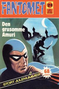 Cover Thumbnail for Fantomet (Romanforlaget, 1966 series) #23/1972