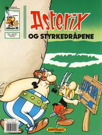 Cover Thumbnail for Asterix (Hjemmet / Egmont, 1969 series) #10 - Asterix og styrkedråpene [7. opplag]