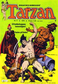 Cover Thumbnail for Tarzan (Atlantic Forlag, 1977 series) #17/1979