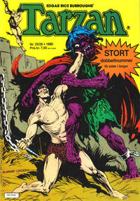 Cover Thumbnail for Tarzan (Atlantic Forlag, 1977 series) #25-26/1980