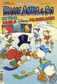Cover Thumbnail for Kalle Anka & C:o (Hemmets Journal, 1957 series) #2/1991