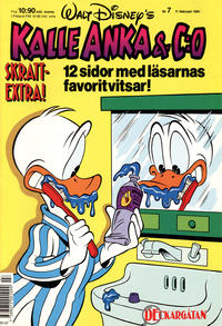 Cover Thumbnail for Kalle Anka & C:o (Hemmets Journal, 1957 series) #7/1991