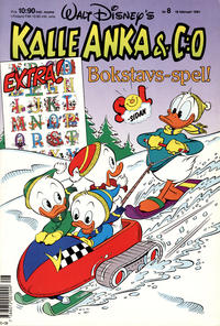 Cover Thumbnail for Kalle Anka & C:o (Hemmets Journal, 1957 series) #8/1991