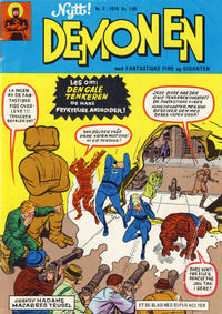 Cover Thumbnail for Demonen (Serieforlaget / Se-Bladene / Stabenfeldt, 1969 series) #2/1970