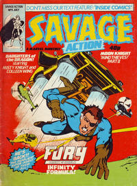 Cover Thumbnail for Savage Action (Marvel UK, 1980 series) #9