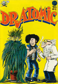 Cover Thumbnail for Dr. Atomic (Last Gasp, 1972 series) #1 [5th print 1.25 USD]