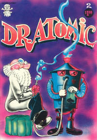 Cover Thumbnail for Dr. Atomic (Last Gasp, 1972 series) #2 [3rd print 1.00 USD]