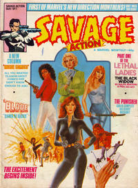 Cover Thumbnail for Savage Action (Marvel UK, 1980 series) #7