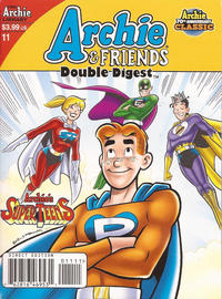Cover Thumbnail for Archie & Friends Double Digest Magazine (Archie, 2011 series) #11 [Direct Edition]
