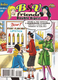 Cover Thumbnail for B&V Friends Double Digest Magazine (Archie, 2011 series) #220 [Direct Edition]