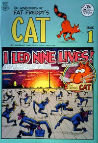 Cover Thumbnail for Fat Freddy's Cat (Rip Off Press, 1977 series) #1 [Revised]