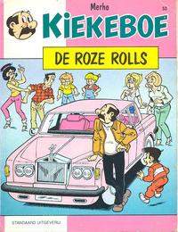 Cover Thumbnail for Kiekeboe (Standaard Uitgeverij, 1990 series) #53 - De roze Rolls