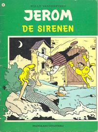 Cover Thumbnail for Jerom (Standaard Uitgeverij, 1962 series) #95 - De sirenen