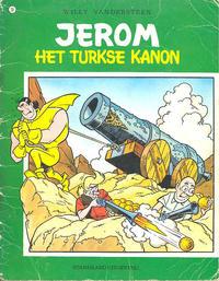 Cover Thumbnail for Jerom (Standaard Uitgeverij, 1962 series) #28 - Het turkse kanon