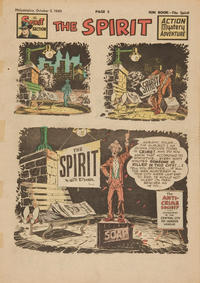 Cover Thumbnail for The Spirit (Register and Tribune Syndicate, 1940 series) #10/2/1949