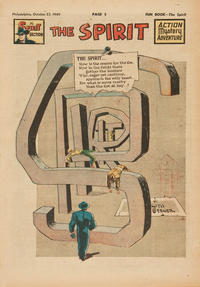 Cover Thumbnail for The Spirit (Register and Tribune Syndicate, 1940 series) #10/23/1949