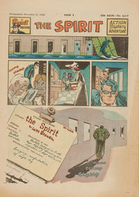 Cover Thumbnail for The Spirit (Register and Tribune Syndicate, 1940 series) #11/13/1949